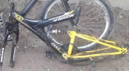 Troco quadro aro 26 tb 100 x5 em outra bike