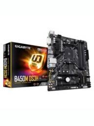 Placa-Mãe Gigabyte B450M DS3H V2, AMD B450, mATX, DDR4, (rev. 1.0)