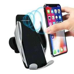 Carregador Veicular Qi Smart Sensor Wireless Charger S5