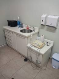 Balcão para Odontologia com Torneira  automática