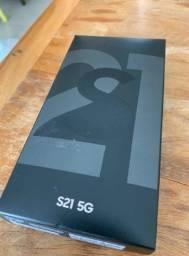 "Samsung Galaxy S21 128G Dual Chip Android Tela 6.2"" (Lacrado)"