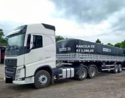 Título do anúncio: Volvo FH 540 6x4 2018 com carreta Rodotrem graneleiro entrada mais serviço