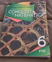 Livro  Conquista da matemática 6