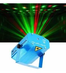 Mini Laser Projetor Holográfico Com Efeitos Especiais