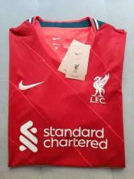 Camisa NIKE Liverpool 2021 - NOVA