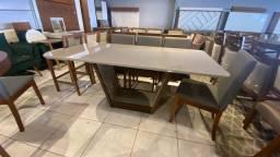 Título do anúncio: Mesa de madeira e acabamento laka luxo