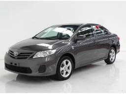 Toyota Corolla 1.8 gli cinza  2012