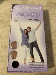 Meia Venosan Comfortline Cotton com Zíper M