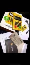 Maquininha de cartão moderninha PagSeguro