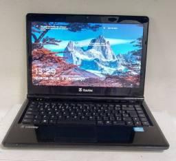 Notebook core i5 memória ram de 4 gb