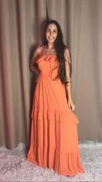 Vestido maravilhoso longão PROMOÇÃO