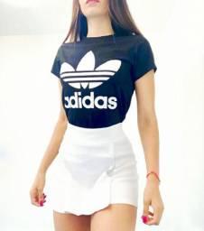 Conjunto t-shirt mais shortinho Bengaline