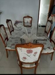 Mesa auto padrão 6 cadeiras