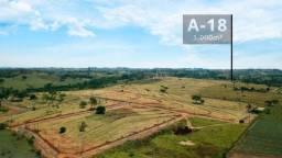 Título do anúncio: Chácara (A-18) de 1000 m², no Recanto das Araras em Álvares Machado- SP
