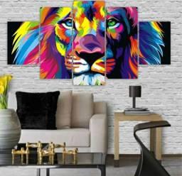Quadros leão promoção