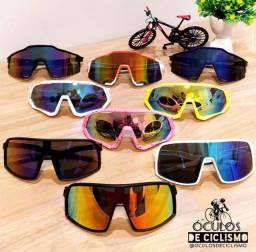 Óculos e acessórios de ciclismo