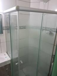 Box Banheiro Blindex Incolor 4 Folhas