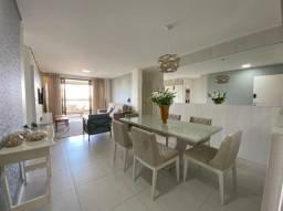 (ESN)TR72712. Apartamento no Porto das Dunas com 126m², 3 suítes, 2 vagas