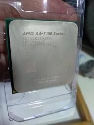 Processador Amd Apu A4 7300  4.0ghz - Fm2 - com placa de vídeo Integrada Radeon 8470D