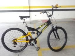 Bicicleta Prince Aro 26 dupla suspensão usada