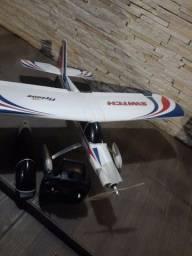 Aeromodelo switch flyzone a bateria