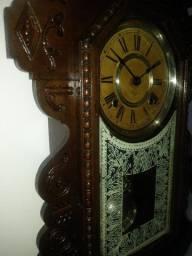 Relógio de Parede Ansonia capelinha clock co new york