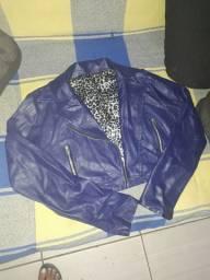 Jaqueta couro fake 35$