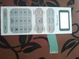 Membrana Teclado Forno Microondas Panasonic Nng55 / Nng55bh