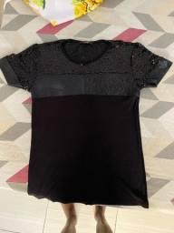 Título do anúncio: Camisa Preta PARGAN (P)