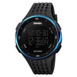 Relógio Masculino Digital Skmei 1219 Azul À Prova D'água