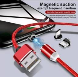 Título do anúncio: Cabo Usb Magnético *Tipo C* Led