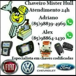 CHAVEIRO MISTER HULL