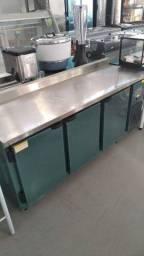 Balcão de serviço refrigerado 1.85. para organizar melhor sua cozinha