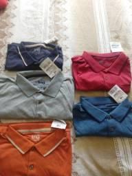 Título do anúncio: Camisa pólo várias cores e modelos