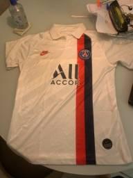 Camisa PSG AWAY branca 2019/2020 NEYMAR 10
