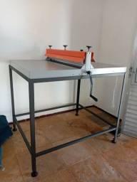 Máquina de corte e vinco  100cm manual