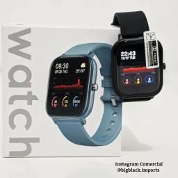 Relógio Smartwatch Colmi P8 Fitness Tracker Esportivo Preto Ip67