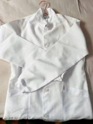 Título do anúncio: Jaleco branco com manga comprida