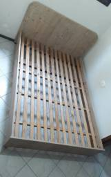 Cama casal madeira (Urgente)