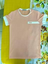 Título do anúncio: Camisa Salmão PARGAN (P)