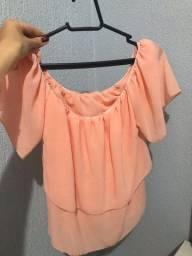 5 blusas M novas