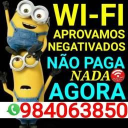Wifi não consultamos o SERASA