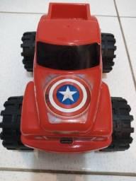 Carro de brinquedo Capitao America
