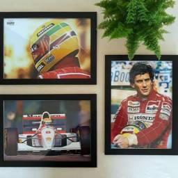 Quadros Ayrton Senna - Edição de Colecionador
