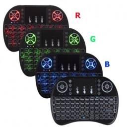 Entrega Grátis - Mini Teclado Keyboard Sem Fio Wireless Iluminado Luz Led - 3