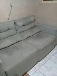 Vendo esse sofá retrato seminovo não faço entrega