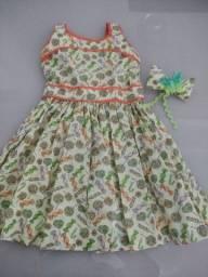 Título do anúncio: Vestido infantil