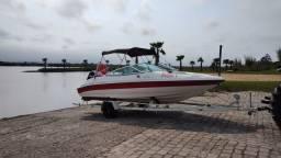 "Título do anúncio: Lancha Brazilian Boat 19"" 2011 - Impecável - TOP"