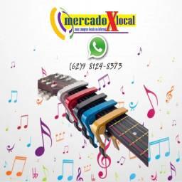 Capotraste Braçadeira de Alumínio para Instrumento Violão Guitarra