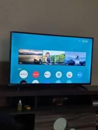 """TV 32"""" SMART PANASONIC COMPLETA COM NOTA FISCAL"""